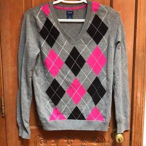 Women's Izod V-Neck sweater